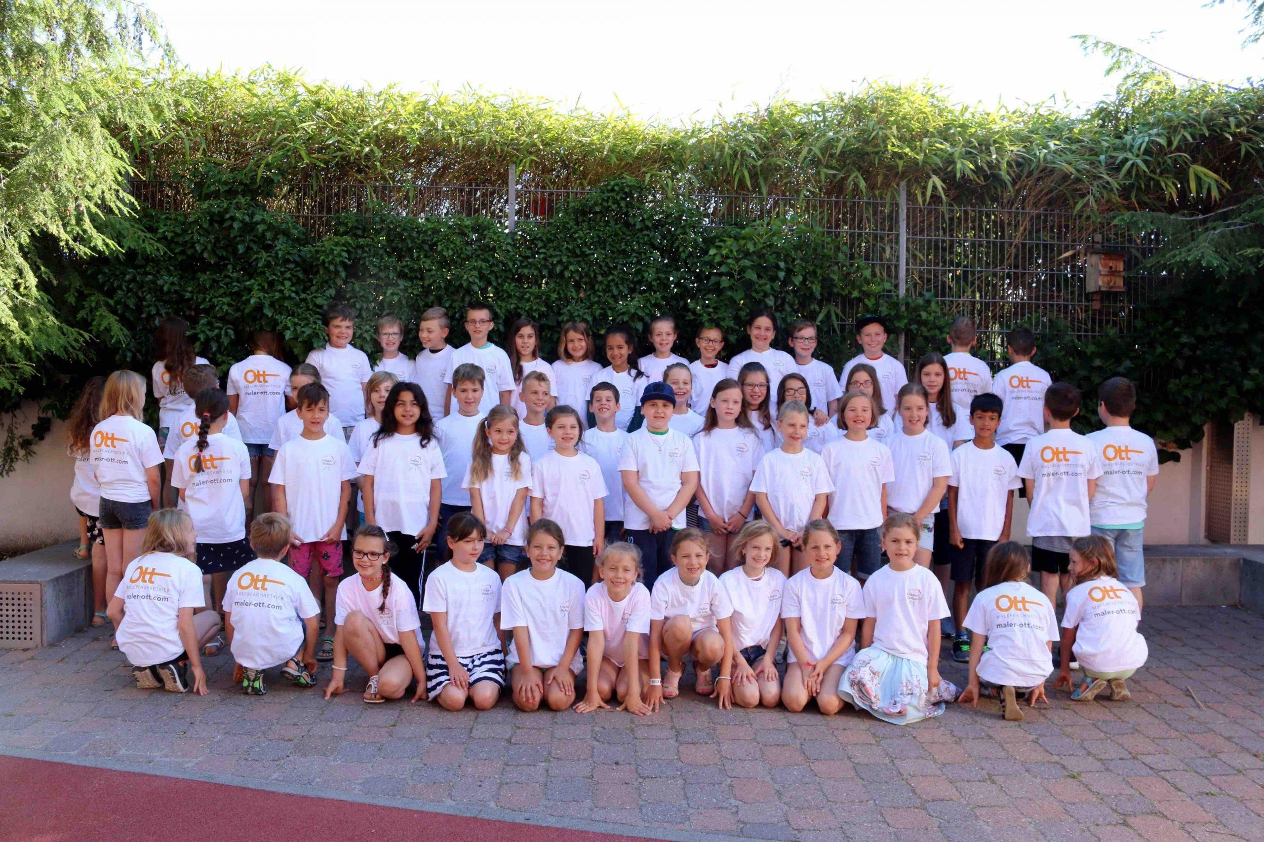 Maler Ott sponsort T-Shirts für Chorkids